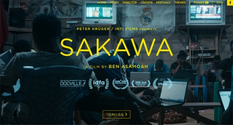 Sakawa, a film website