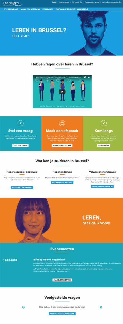 Leerwinkel Brussel Project